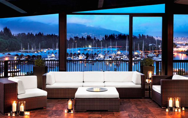 The Westin Bayshore Hotel in Vancouver