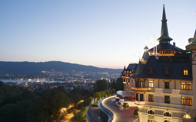 The Dolder Grand Hotel in Zurich