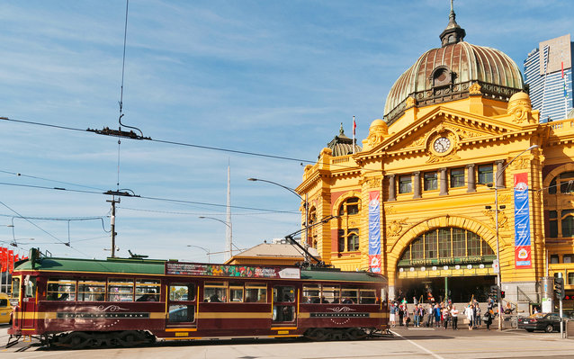 City Circle Tram in Melbourne