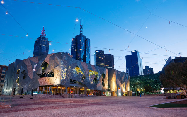 Federation Square in Melbourne