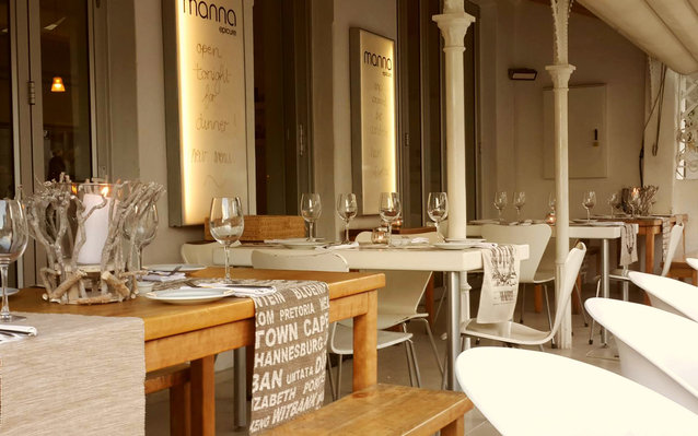 Manna Epicure Restaurant in Cape Town