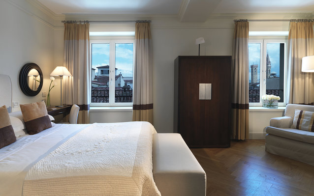 The Savoy Hotel in Florence