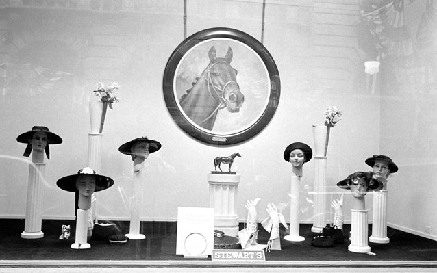 Kentucky Derby History of the Hat Stewart's Department Store