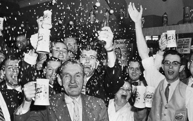 World Series victory of the 1957 Milwaukee Braves