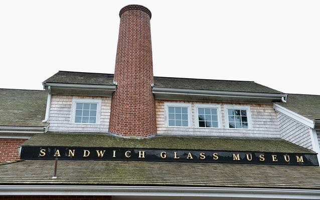 Sandwich Glass Museum in Cape Cod