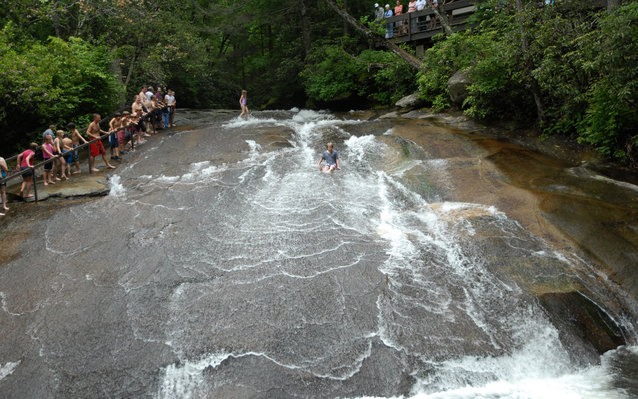 Sliding Rock North Carolina
