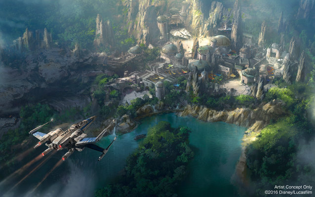 Star Wars Theme Park Disney