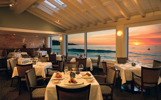 Marine Room Restaurant in San Diego