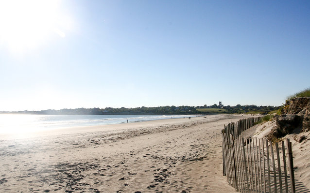 Sachuest Beach in Rhode Island