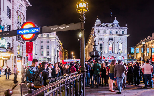 London's night tube launches today