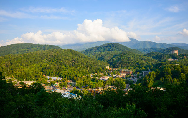 Gatlinburg Scenic Overlook, Tennessee