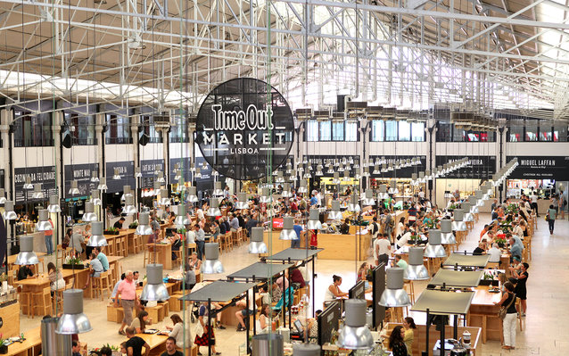 Time Out Mercado da Ribeira Market in Lisbon