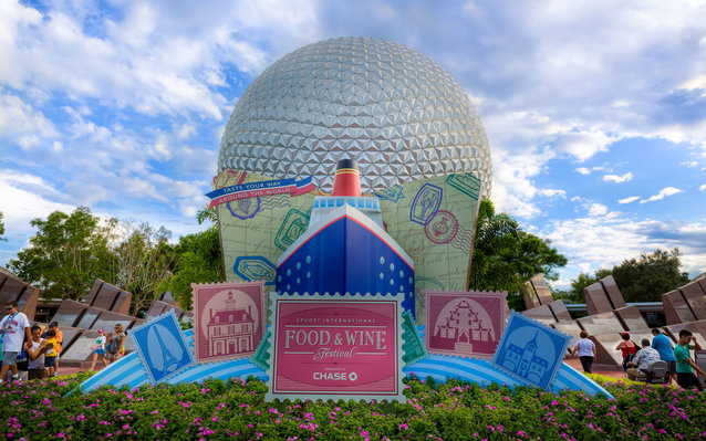 Disney World Epcot Food and Wine Festival