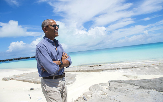 Obama Establishing the First Marine National Monument