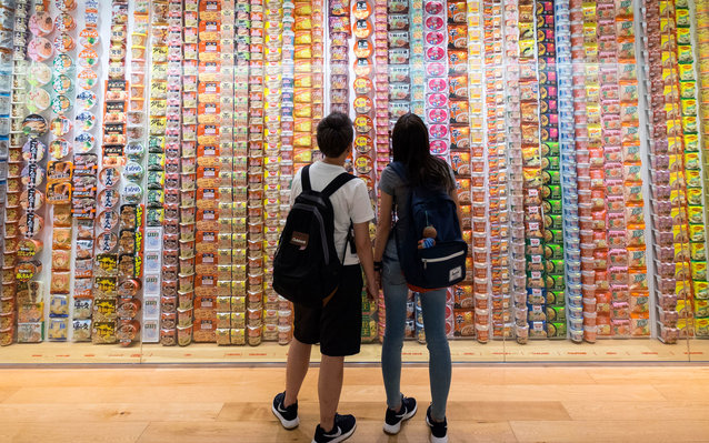 Cup Noodles Museum in Japan