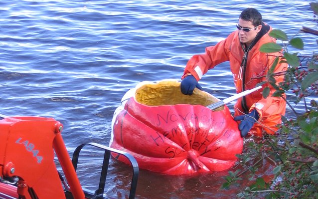 Windsor Pumpkin Regatta in Nova Scotia