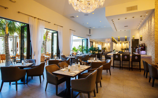 Stelle Restaurant in Turks and Caicos
