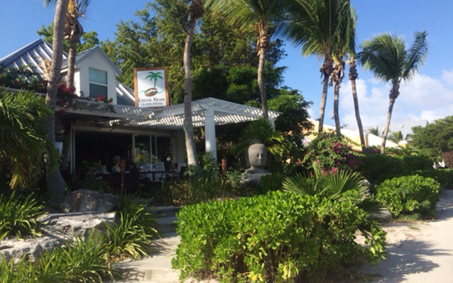 Green Bean Island Bistro Restaurant in Turks and Caicos