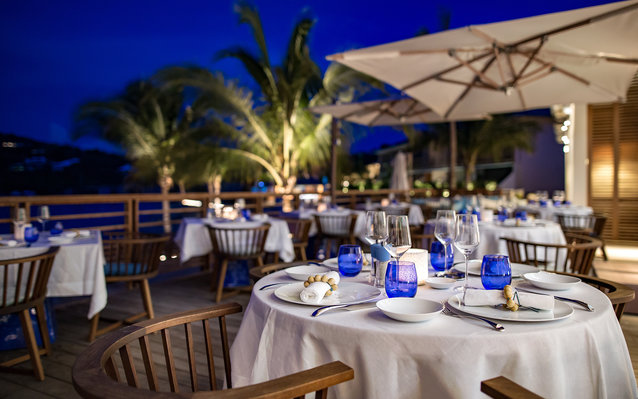 Aux Amis Restaurant in St. Barts
