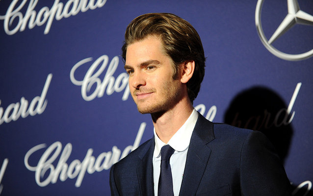Andrew Garfield Spent His Birthday High at Disneyland