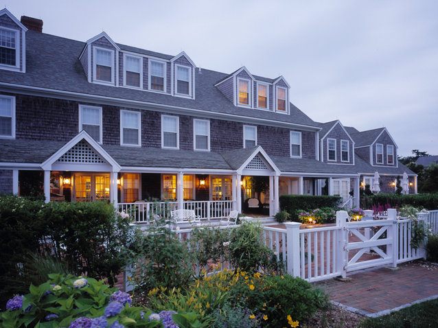 Cottages at the Boat Basin Hotel in Nantucket