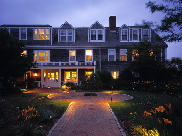 The Wauwinet Hotel in Nantucket