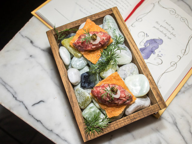 Lumiere Has Nothing on Jose Andrés' 10-Course 'Beauty & the Beast'-Inspired Dinner
