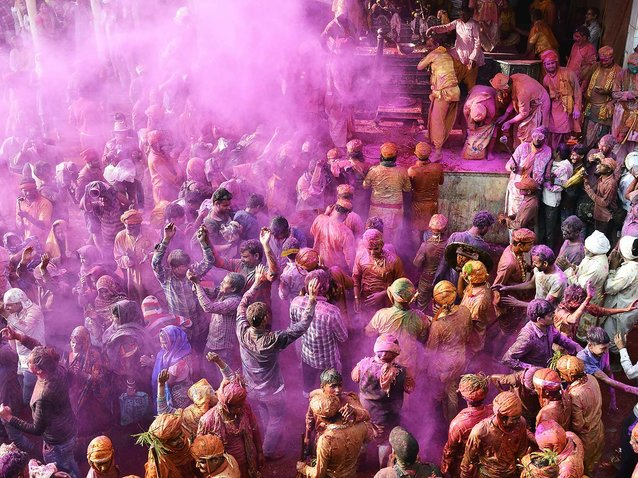 Here's What You Should Know About the Hindu Festival of Holi