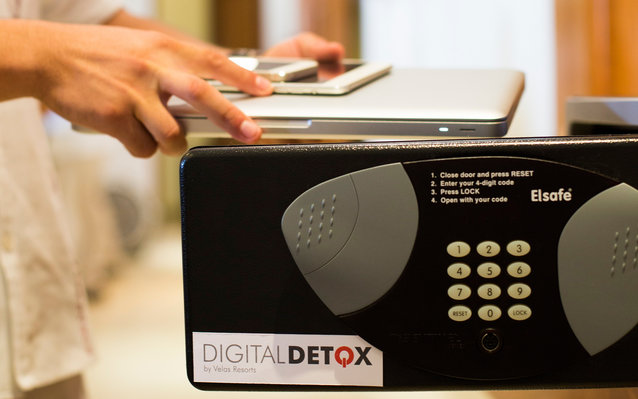 Riviera Nayarit's digital detox lock box