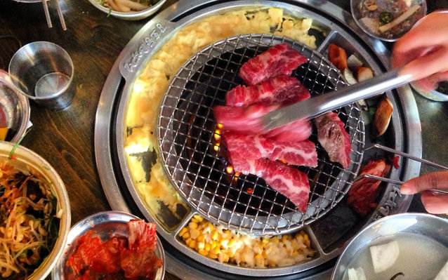Midtown Lunch, Los Angeles, Korean, BBQ, barbecue, local