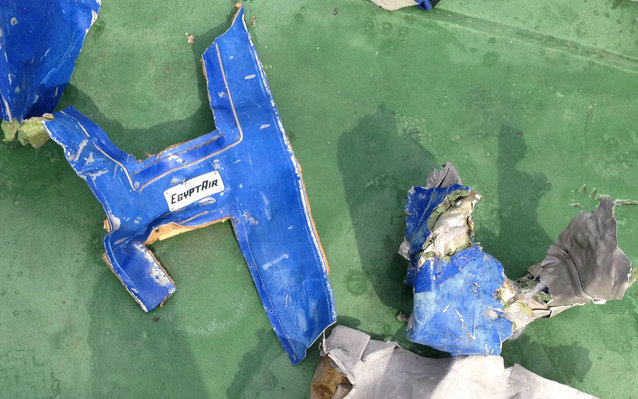 EgyptAir wreckage