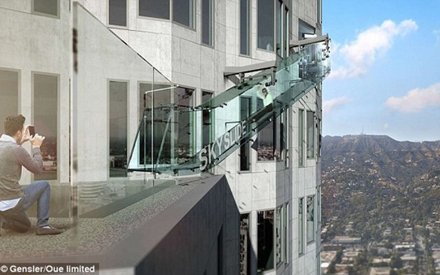 1,000 ft glass slide