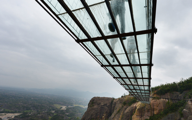 Chinese Glass Bottomed Bridge