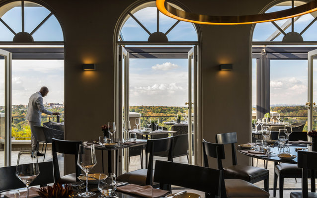 Johannesburg Restaurant: Four Seasons The Westcliff