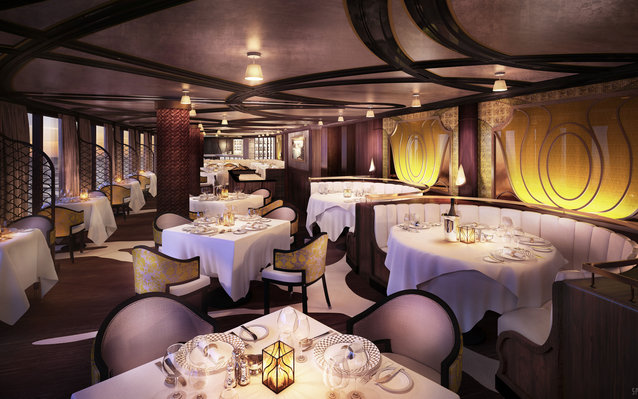 Chartreuse, a new French restaurant on the Regent Seven Seas Explorer