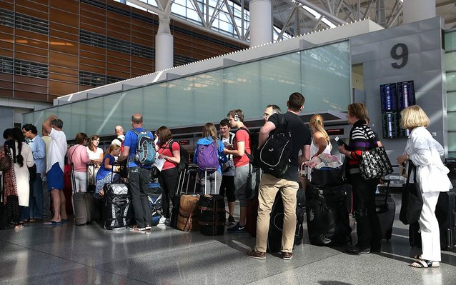 Best/worst airports for thanksgiving