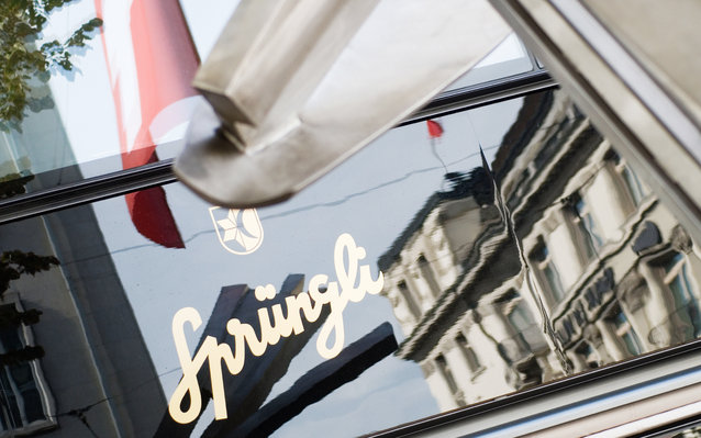 Sprungli Cafe Restaurant in Zurich