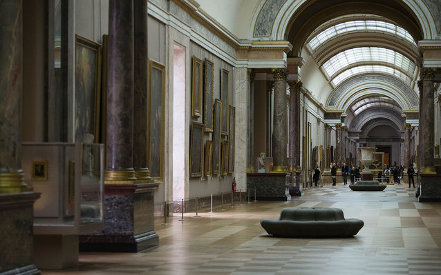 Interior wing of The Louvre
