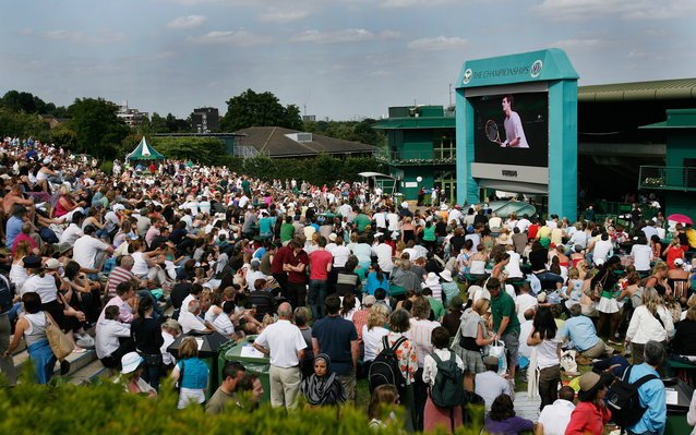 Public Spaces to Watch Wimbledon