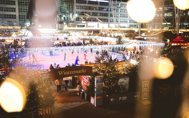 wintermarket in munich airport