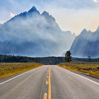 Top 5 Scenic Drives in Jackson Hole