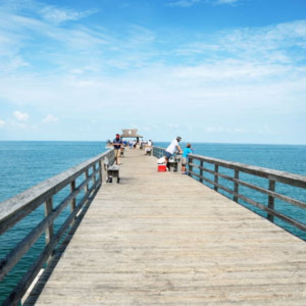 Naples, Florida for Sunning and Fishing