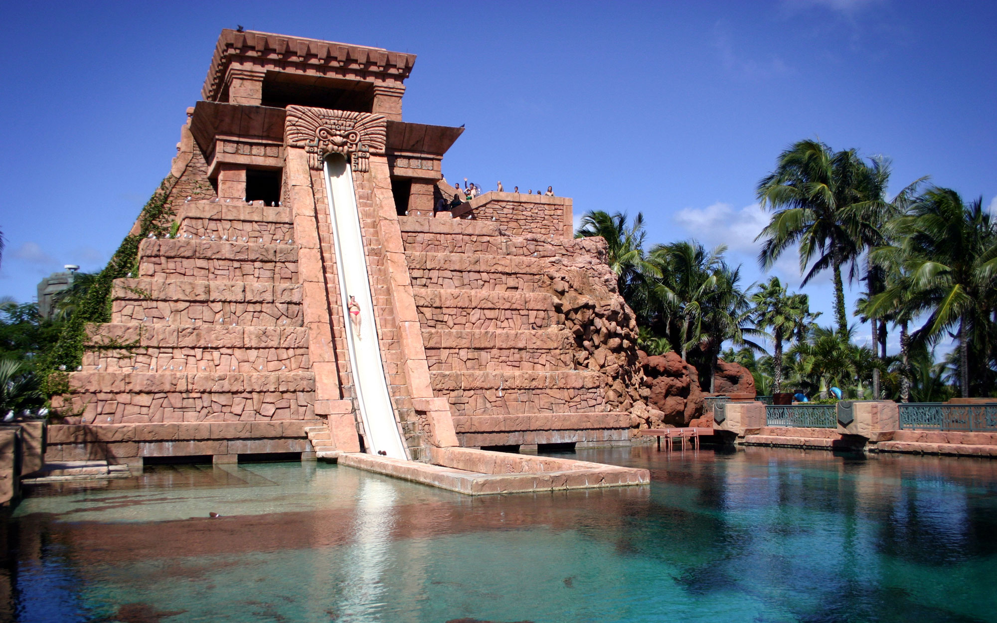 Temple Waterslide Atlantis