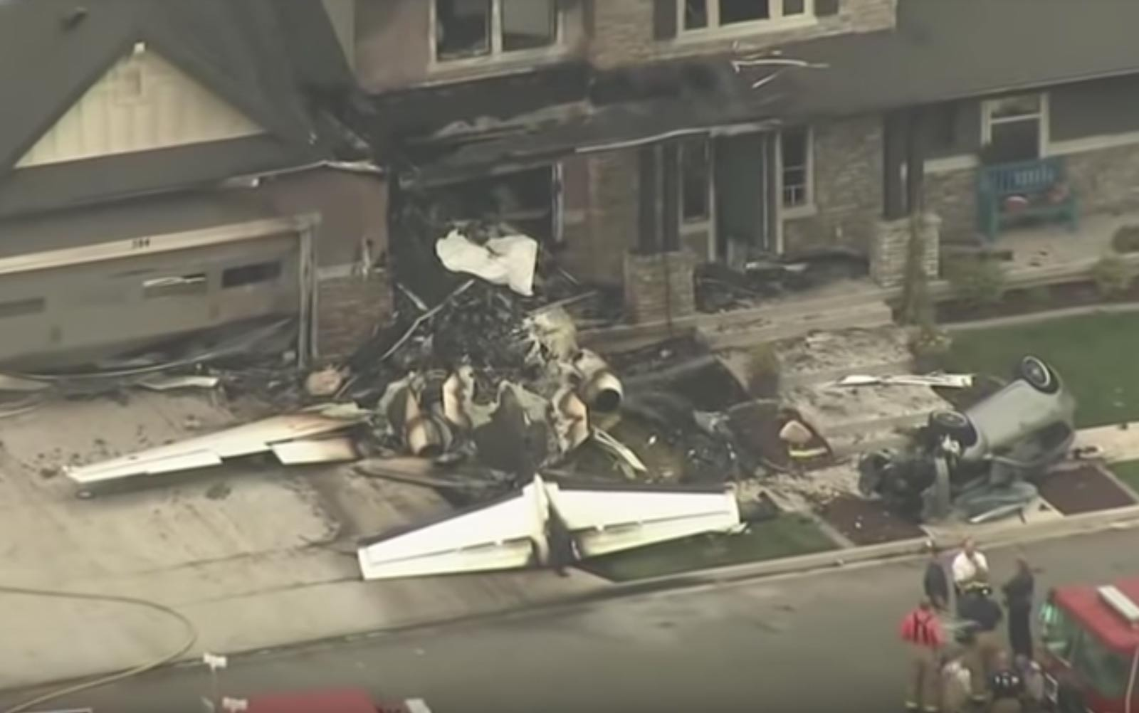 Man Steals Plane Crashes It Into His Own Home Travel Leisure