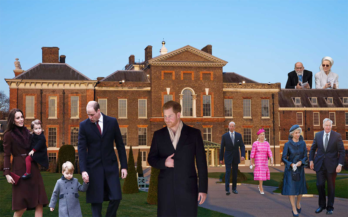 All The Royals That Live At Kensington Palace With Prince