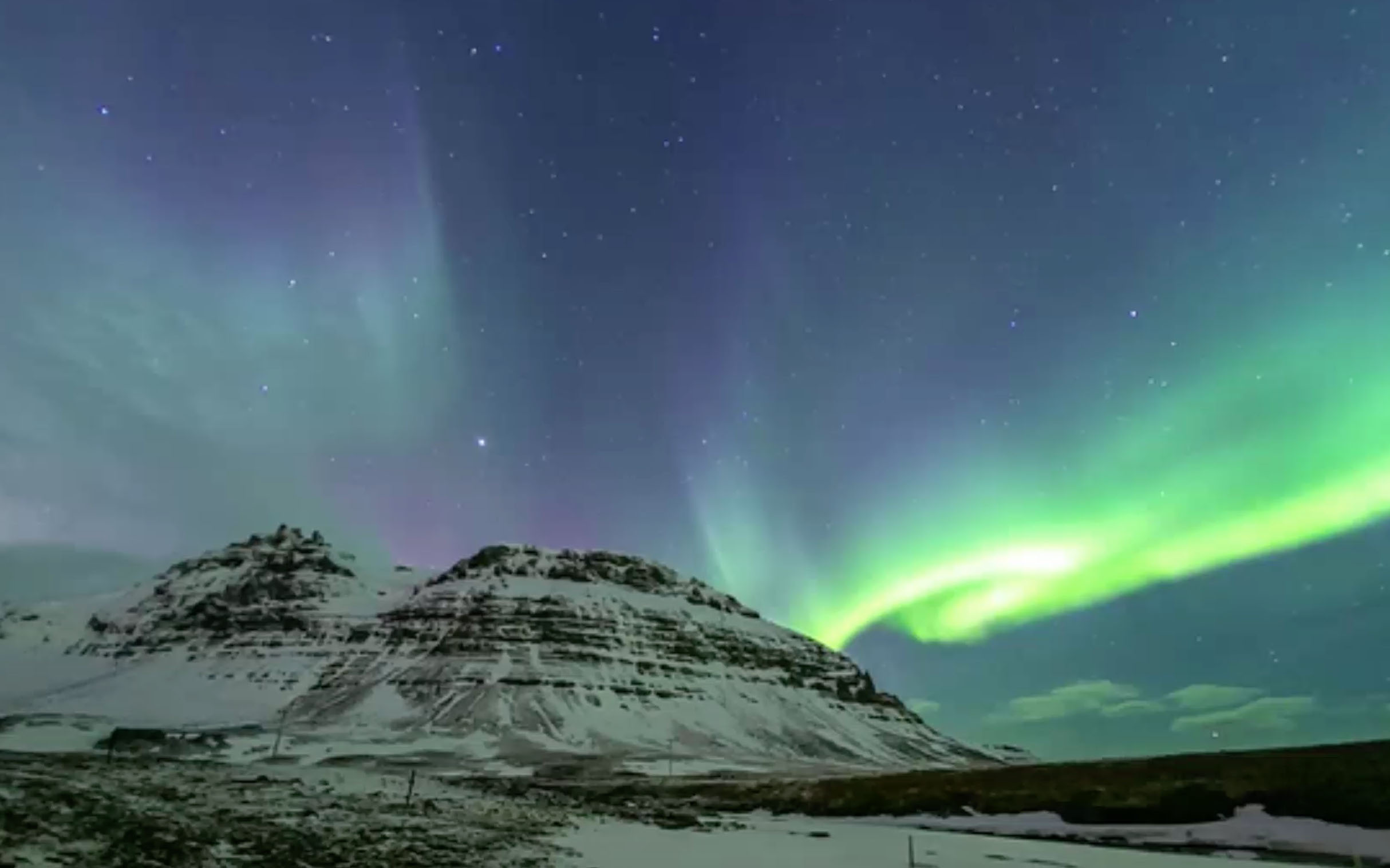 Northern lights put on dazzling celestial display as solar storm blasts Earth