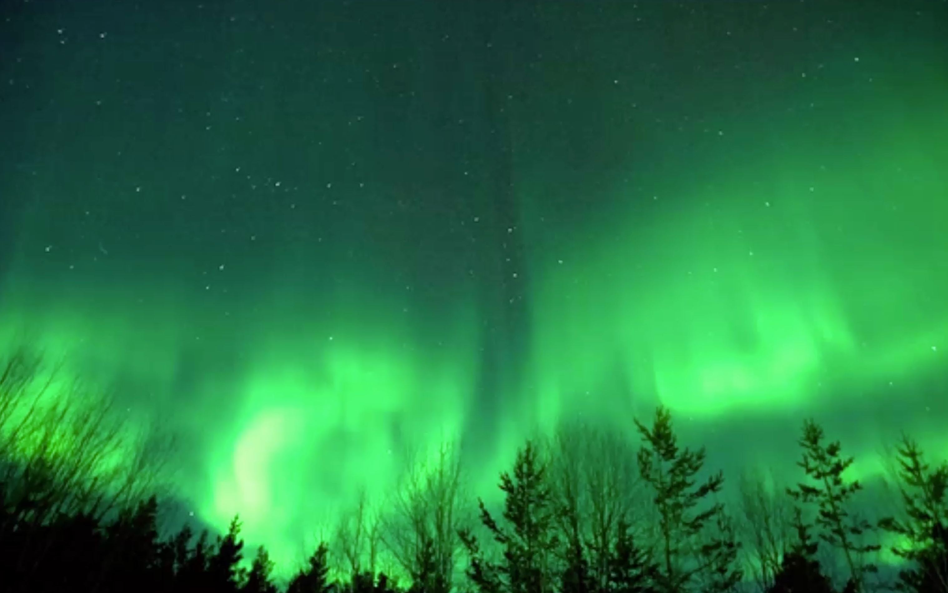 Look up tonight for a chance to see the northern lights for Chance of seeing northern lights tonight