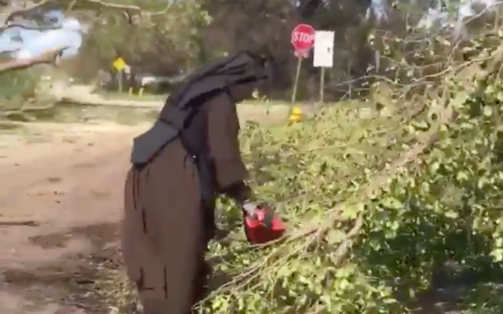 Florida Nun who chainsawed trees after Irma speaks about helping others