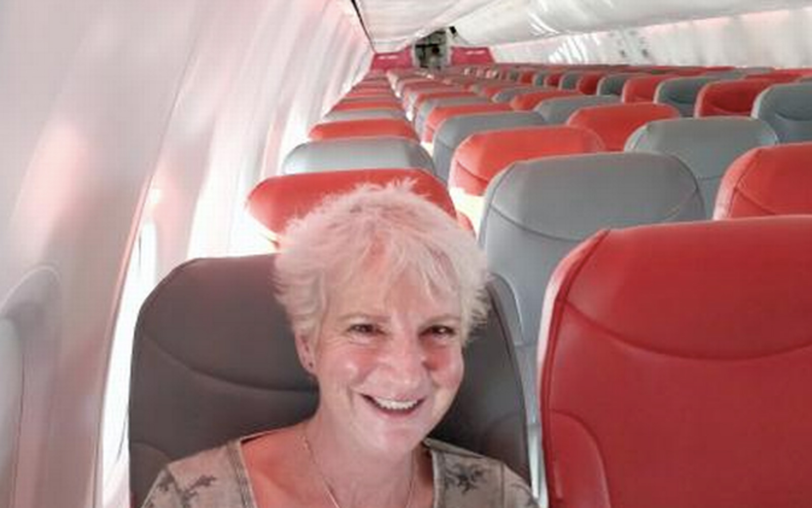 Author books flight to Greece; ends up being only passenger